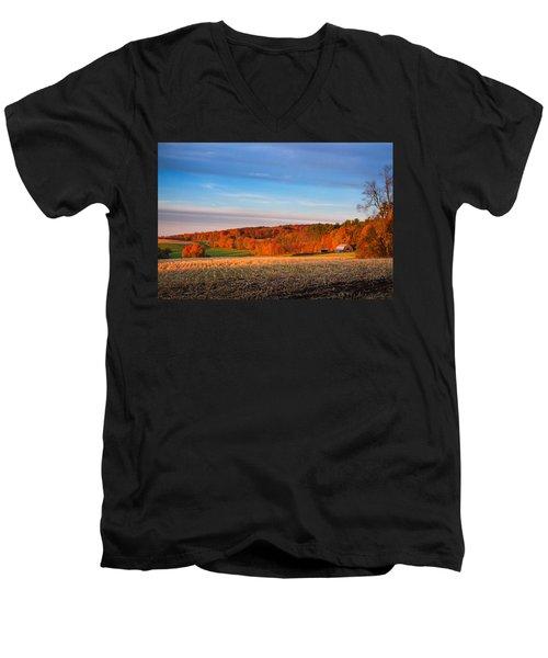 New Hampshire Country Men's V-Neck T-Shirt