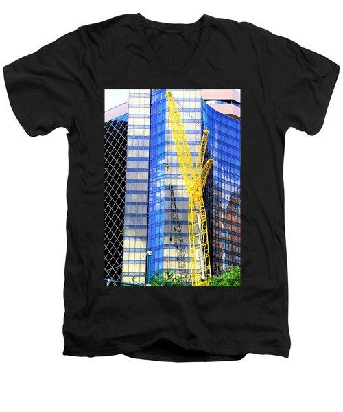 New Orleans Louisiana 4 Men's V-Neck T-Shirt