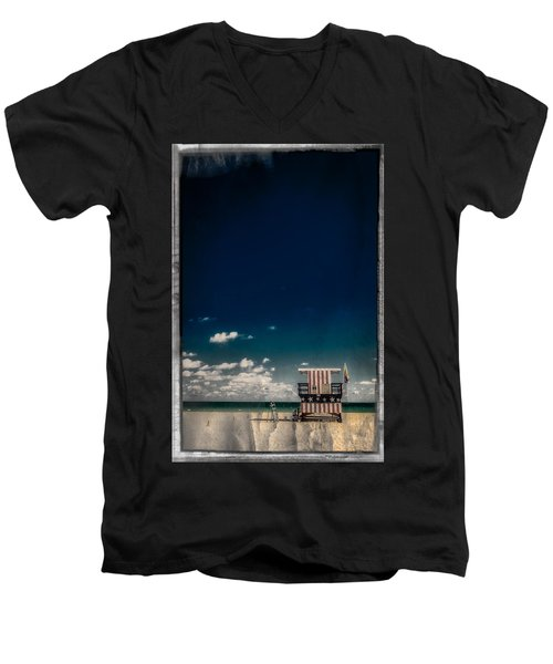 New Paint For Old Glory Men's V-Neck T-Shirt