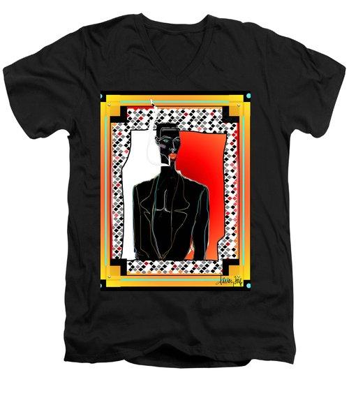Amazing Grace Jones Men's V-Neck T-Shirt