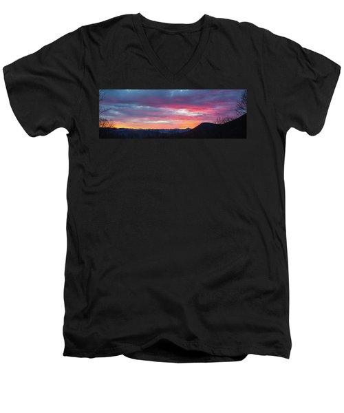 New Year Dawn - 2016 December 31 Men's V-Neck T-Shirt