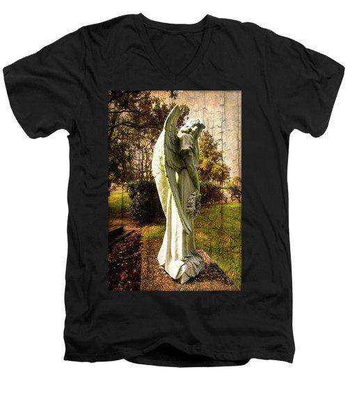 New Zealand Angel Men's V-Neck T-Shirt