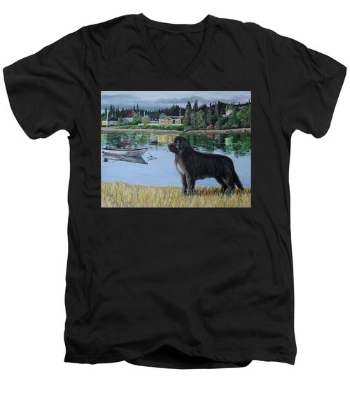 Newfoundland In Labrador Men's V-Neck T-Shirt