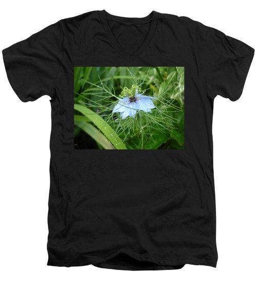 Nigella In Spring Rain Men's V-Neck T-Shirt