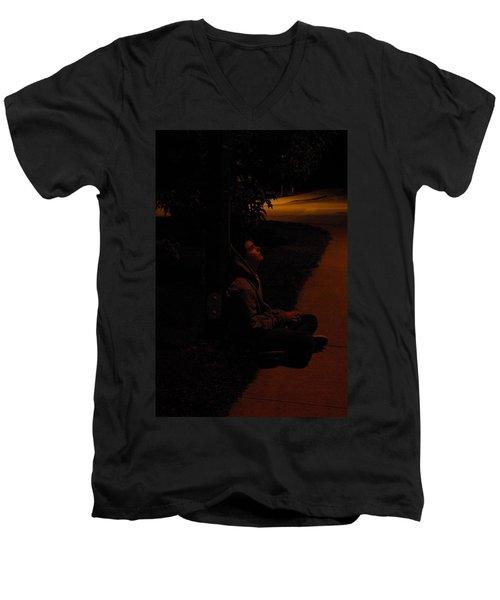 Night Boy Men's V-Neck T-Shirt
