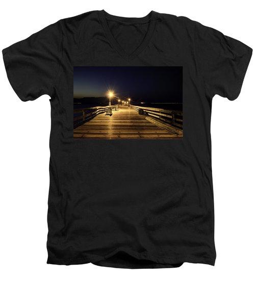 Night Fishin' Men's V-Neck T-Shirt