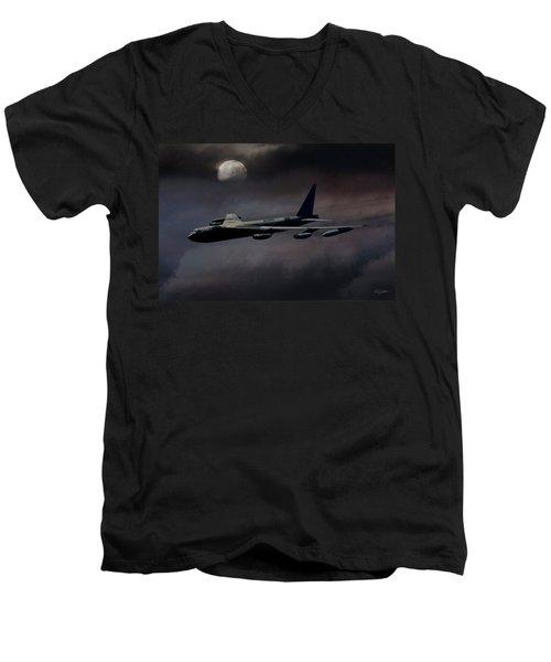 Night Moves B-52 Men's V-Neck T-Shirt