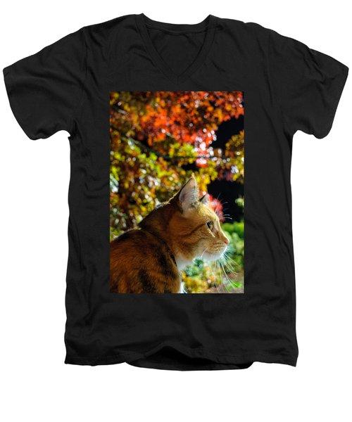 Night Stalker Men's V-Neck T-Shirt
