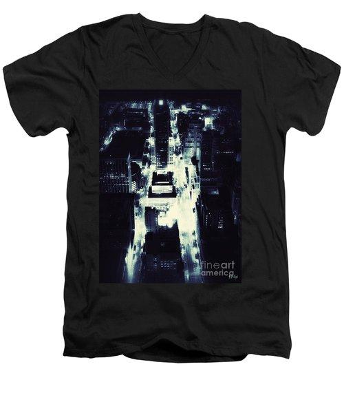 Blue Pill Men's V-Neck T-Shirt