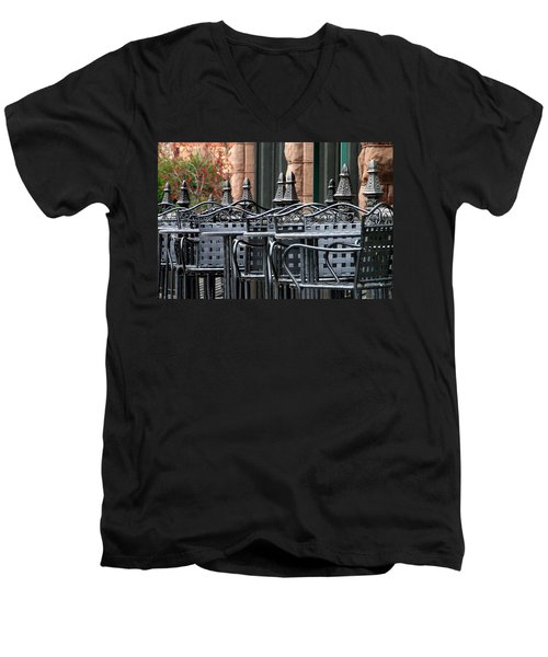 024 - Nina's Men's V-Neck T-Shirt
