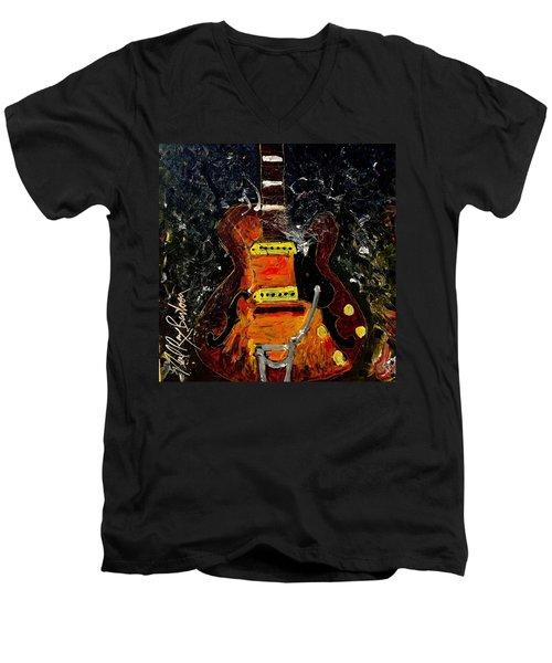 No #7 Men's V-Neck T-Shirt