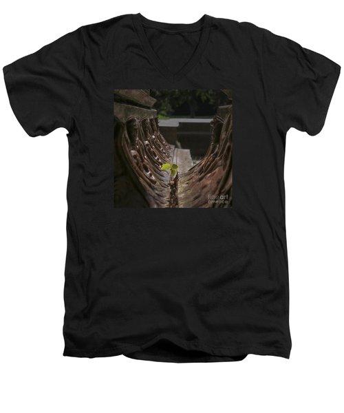 No Excuses Men's V-Neck T-Shirt