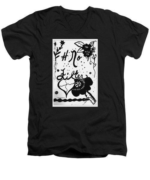 No Filter Men's V-Neck T-Shirt