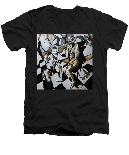 No Need For Violets Men's V-Neck T-Shirt