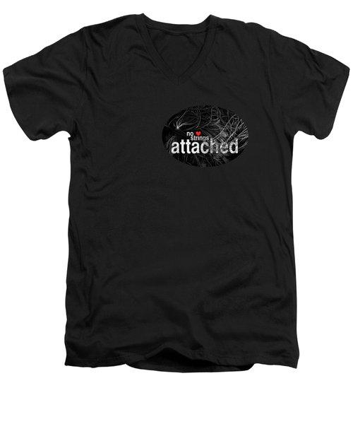 No Strings Attached Men's V-Neck T-Shirt