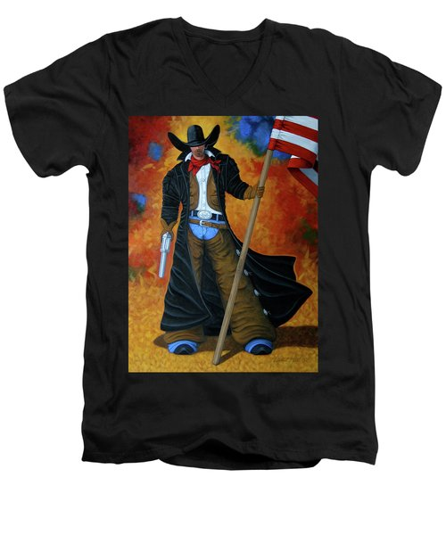 No Trespassing Men's V-Neck T-Shirt