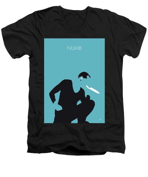 No085 My Linking Park Minimal Music Poster Men's V-Neck T-Shirt