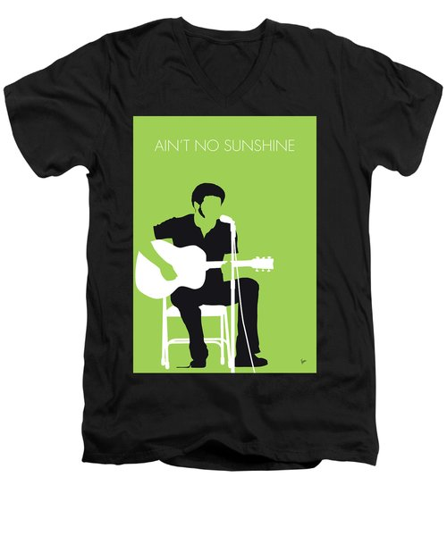 No156 My Bill Withers Minimal Music Poster Men's V-Neck T-Shirt
