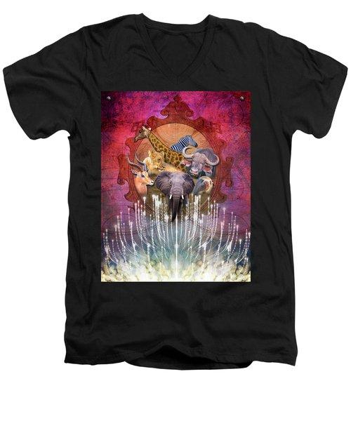 Noble Creatures Men's V-Neck T-Shirt