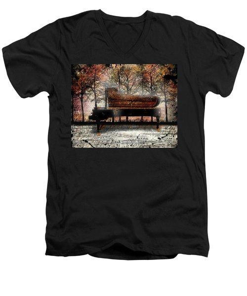 Nocturne  Men's V-Neck T-Shirt