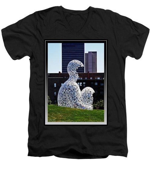 Nomade In Des Moines Men's V-Neck T-Shirt