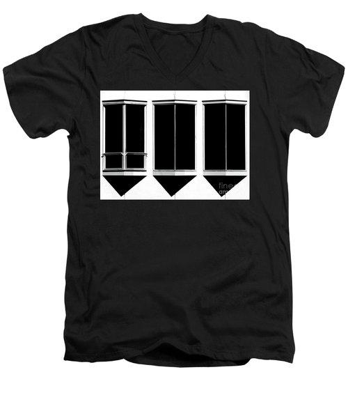 None More Black Men's V-Neck T-Shirt