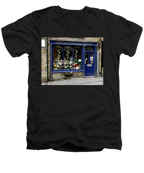 North Cotswold Bakery Men's V-Neck T-Shirt