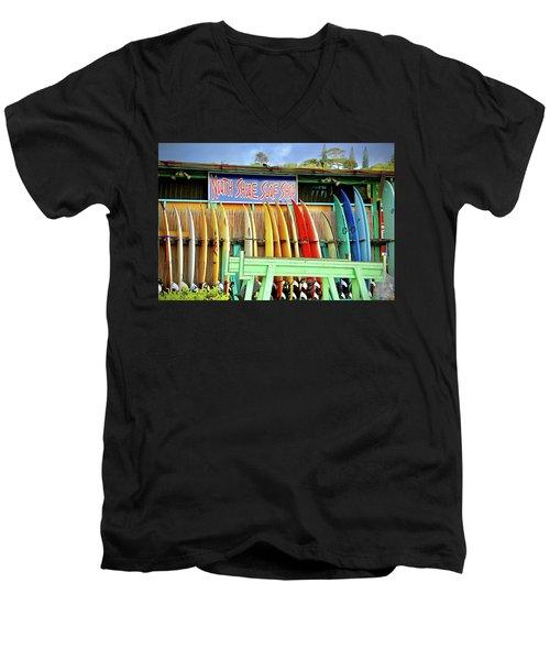 North Shore Surf Shop 1 Men's V-Neck T-Shirt