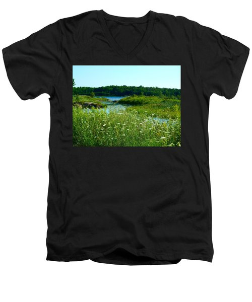 Northern Ontario 1 Men's V-Neck T-Shirt