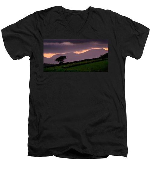 Northern Rhinogs Men's V-Neck T-Shirt