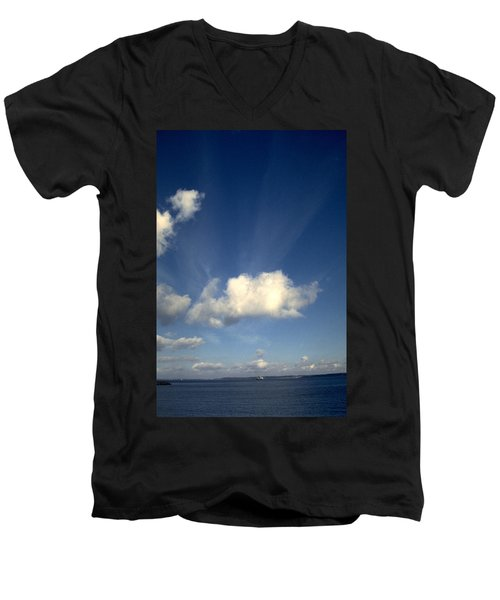 Northern Sky Men's V-Neck T-Shirt