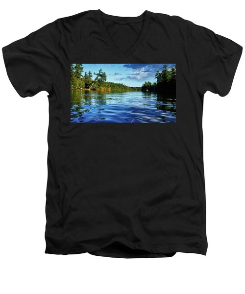 Northern Waters Men's V-Neck T-Shirt