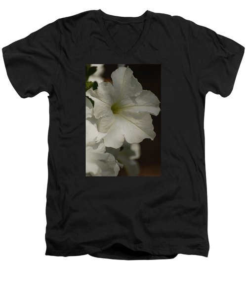 Men's V-Neck T-Shirt featuring the photograph Not Perfect But Beautiful by Ramona Whiteaker