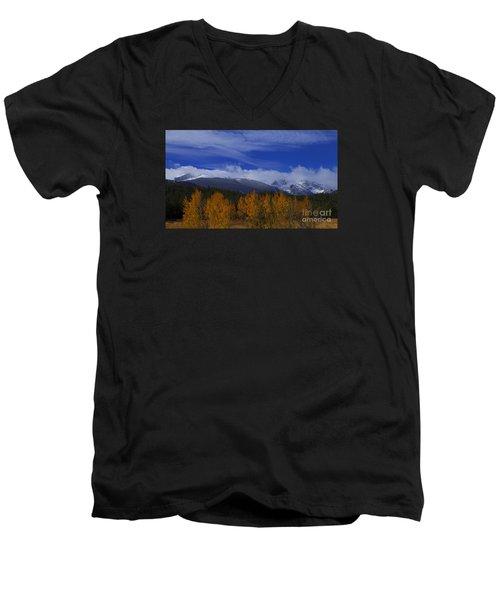 Not Yet Winter Men's V-Neck T-Shirt