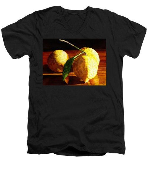 Nurse Beckys Lemons Men's V-Neck T-Shirt