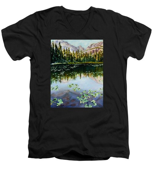 Nymph Lake Men's V-Neck T-Shirt