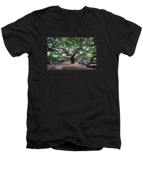 Oak Of The Angels Men's V-Neck T-Shirt