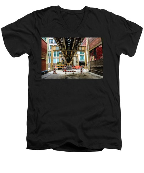 Obey The Signs Men's V-Neck T-Shirt
