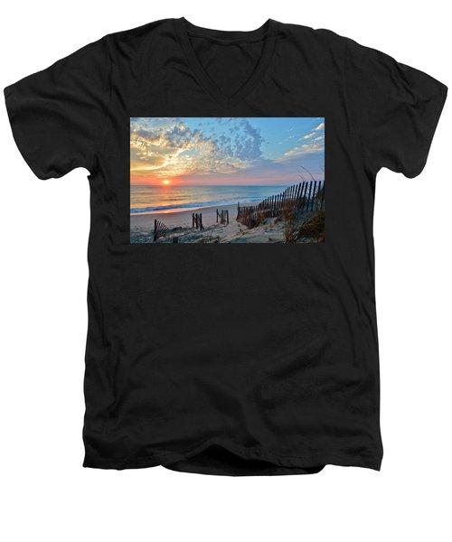Obx Sunrise September 7 Men's V-Neck T-Shirt