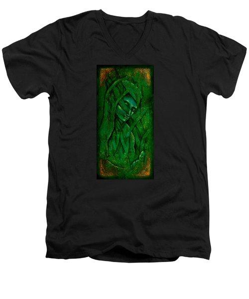 Ocean Birth Men's V-Neck T-Shirt