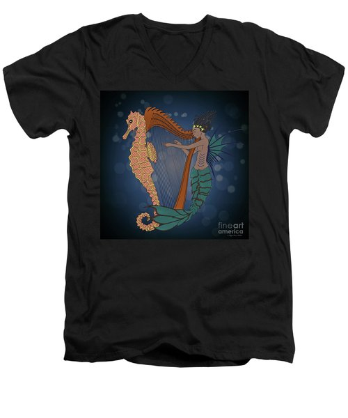 Ocean Lullaby1 Men's V-Neck T-Shirt