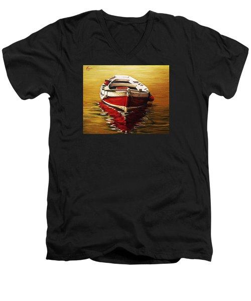Ocre S Sea Men's V-Neck T-Shirt