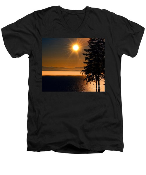 October Fog Men's V-Neck T-Shirt