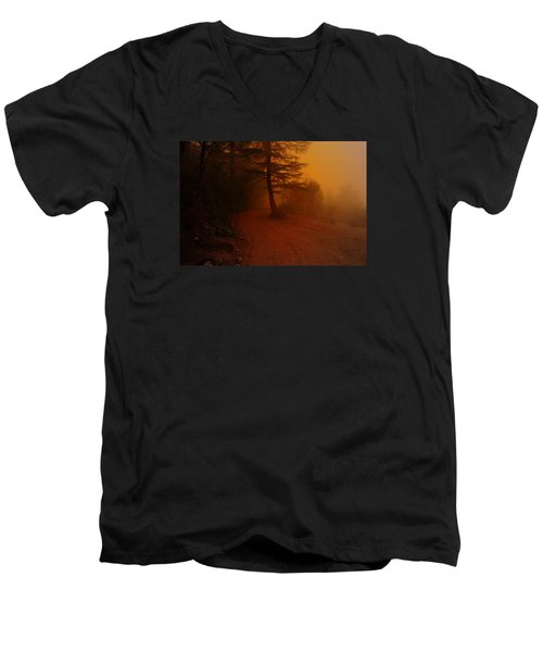 Off The Beaten Path Men's V-Neck T-Shirt