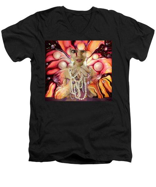 Offerings ... Of A Soul Explosion Men's V-Neck T-Shirt