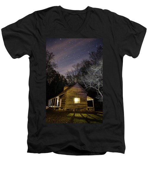 Ogle Cabin Men's V-Neck T-Shirt