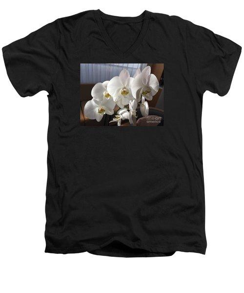 Oh Those Orchids Men's V-Neck T-Shirt