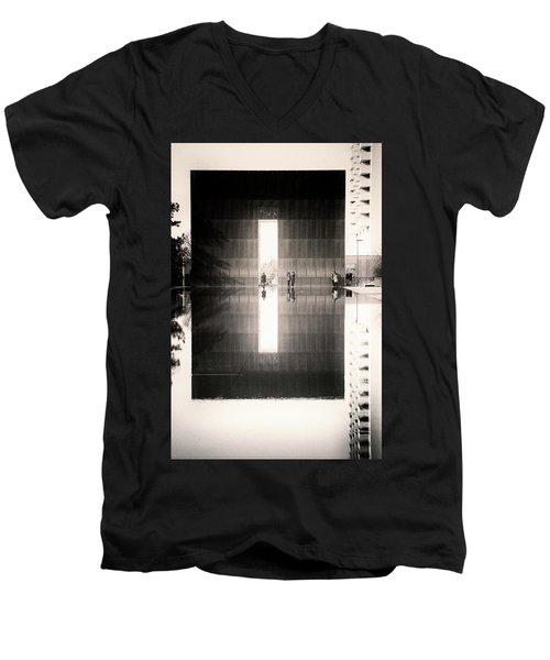 Oklahoma City Memorial Men's V-Neck T-Shirt