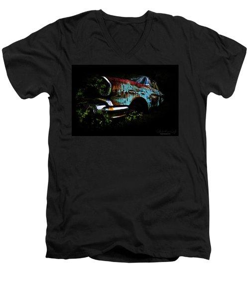 Old Blue Chevy Men's V-Neck T-Shirt