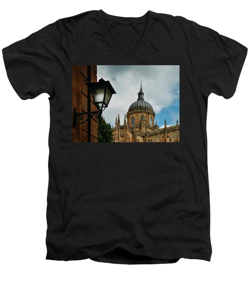 Old Cathedral, Salamanca, Spain  Men's V-Neck T-Shirt